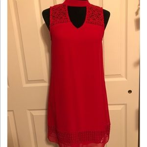 Red I.N. San Francisco dress size small BNWT